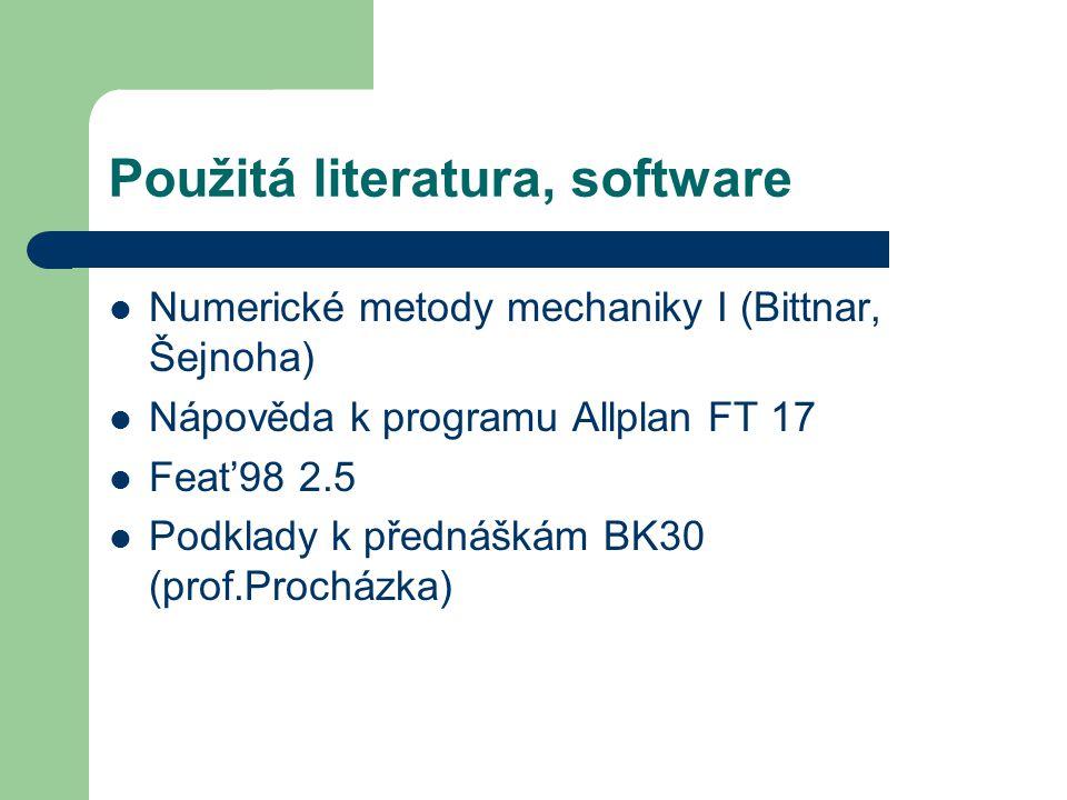 Použitá literatura, software