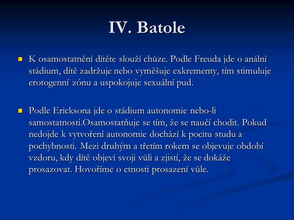 IV. Batole