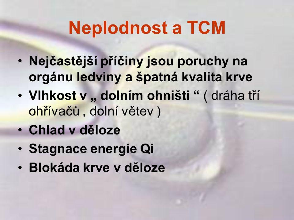 Neplodnost a TCM Nejčastější příčiny jsou poruchy na orgánu ledviny a špatná kvalita krve.