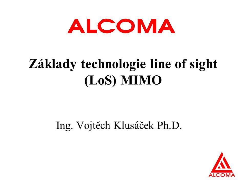 Základy technologie line of sight (LoS) MIMO