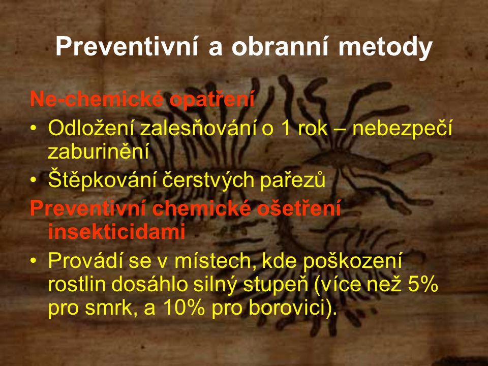 Preventivní a obranní metody