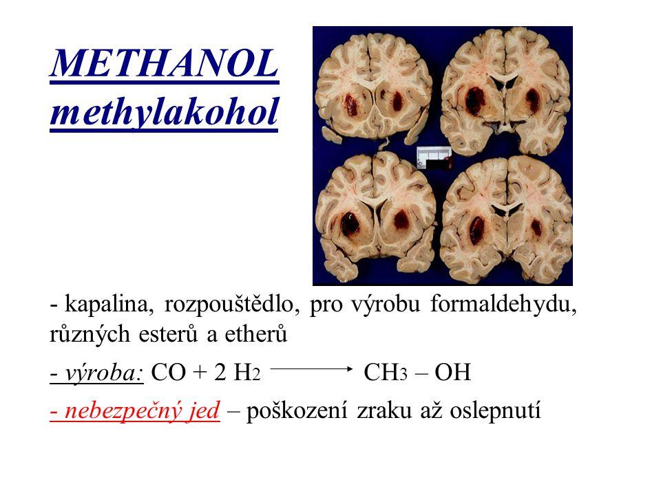 METHANOL methylakohol