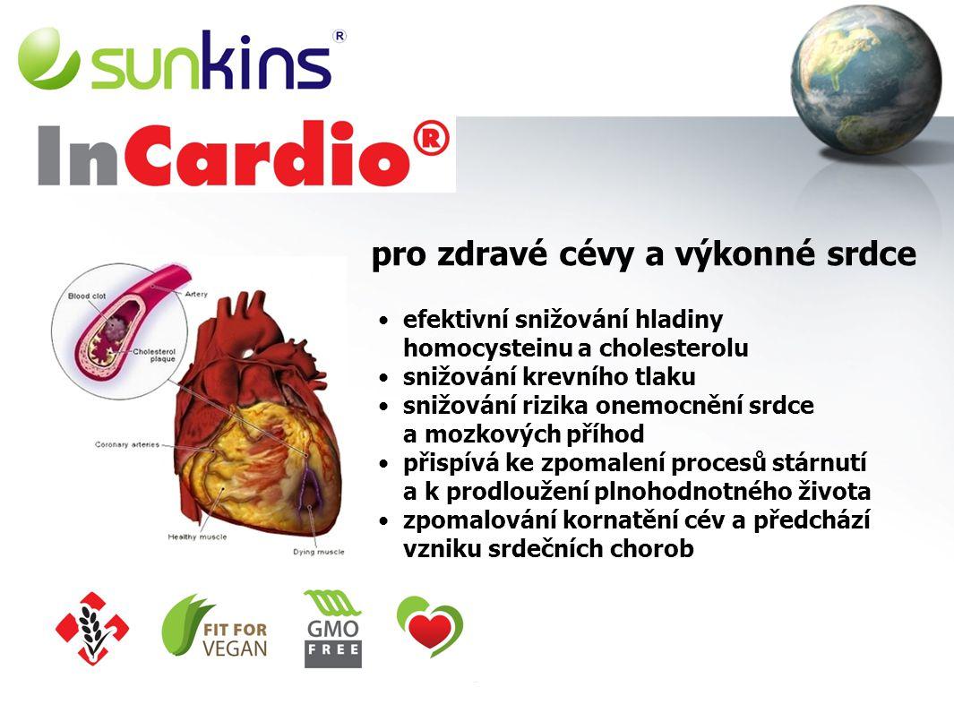 pro zdravé cévy a výkonné srdce