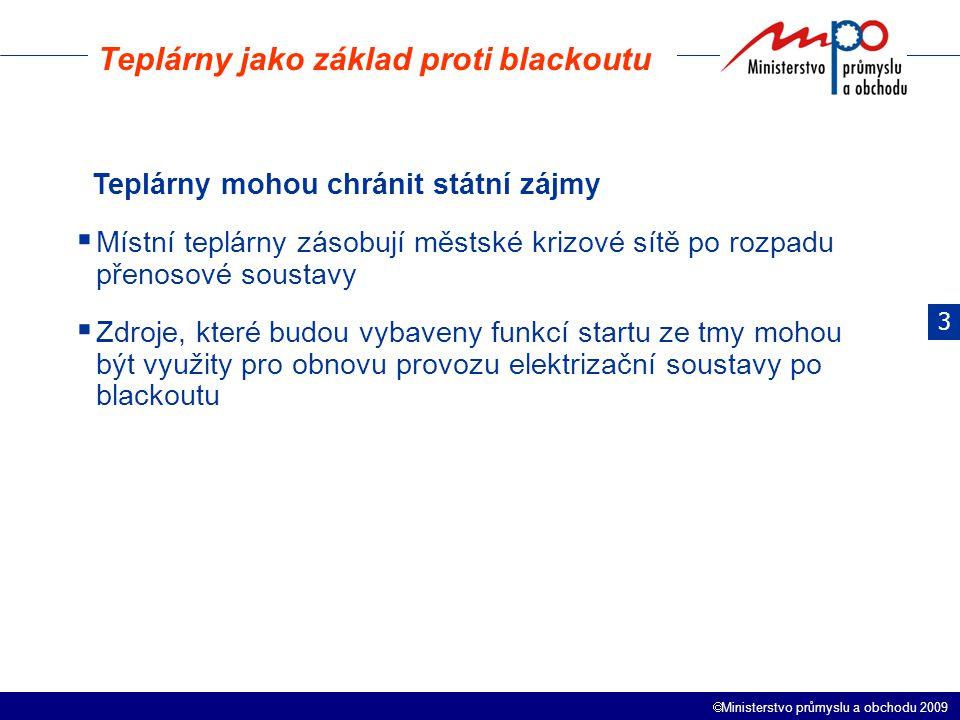 Teplárny jako základ proti blackoutu