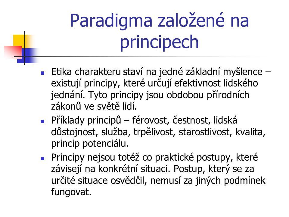 Paradigma založené na principech