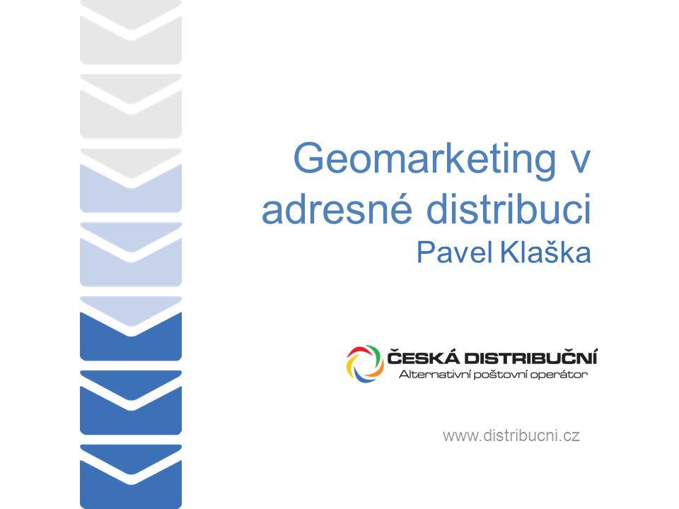 Geomarketing v adresné distribuci