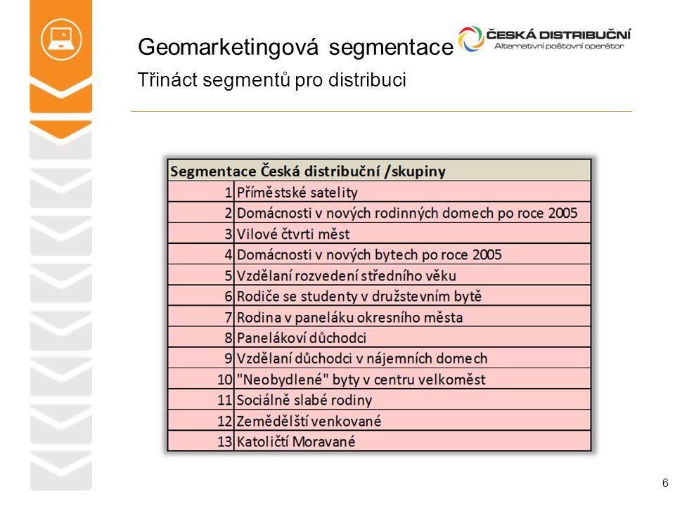 Geomarketingová segmentace