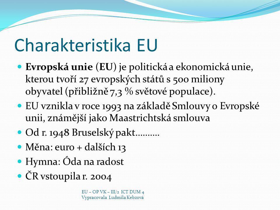 Charakteristika EU