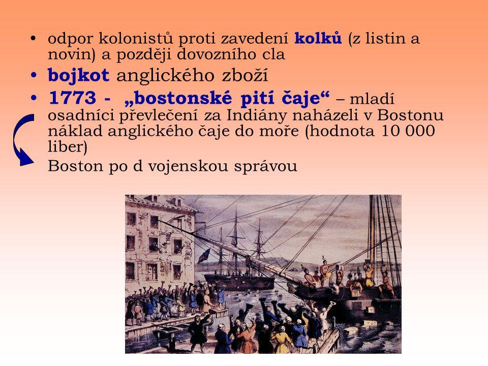 bojkot anglického zboží