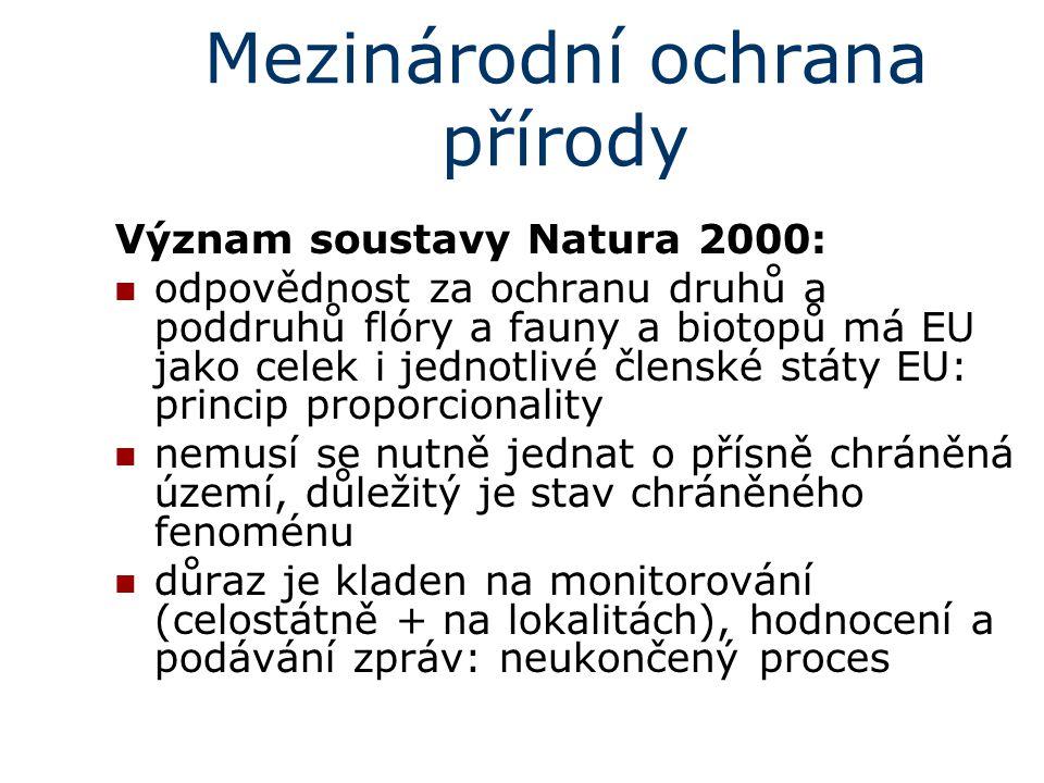 Mezinárodní ochrana přírody