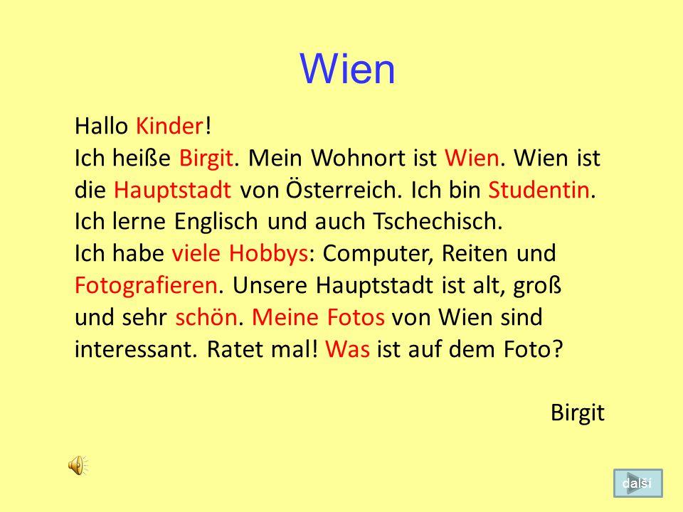 Wien Hallo Kinder!