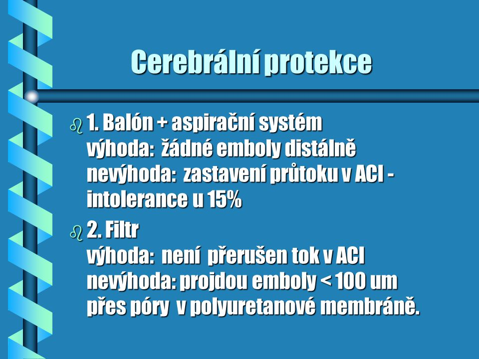 Cerebrální protekce