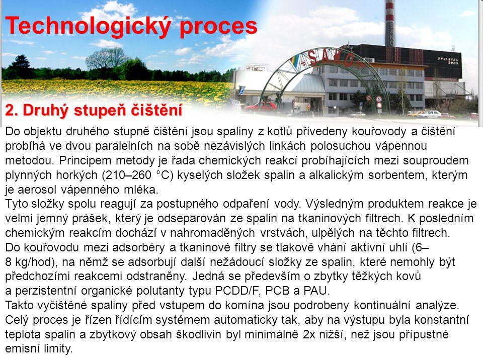 Technologický proces 2. Druhý stupeň čištění