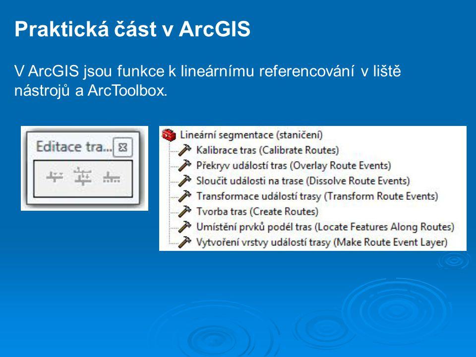Praktická část v ArcGIS