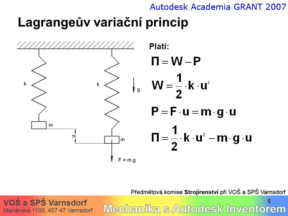 Lagrangeův variační princip