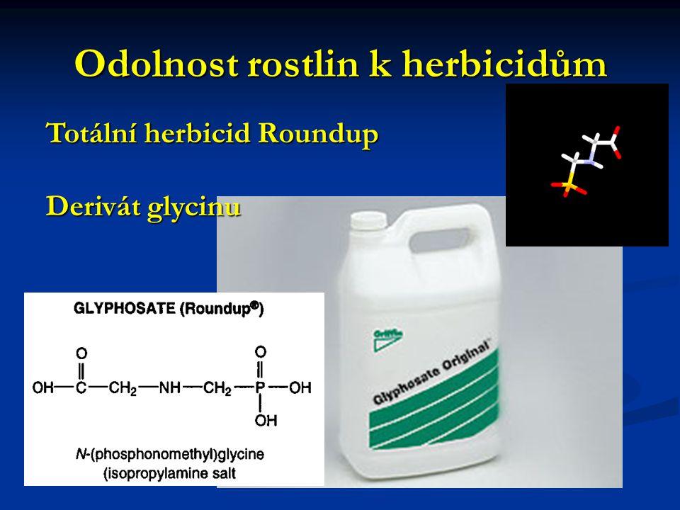 Odolnost rostlin k herbicidům