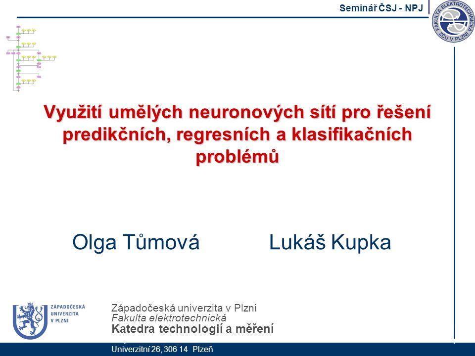 Olga Tůmová Lukáš Kupka