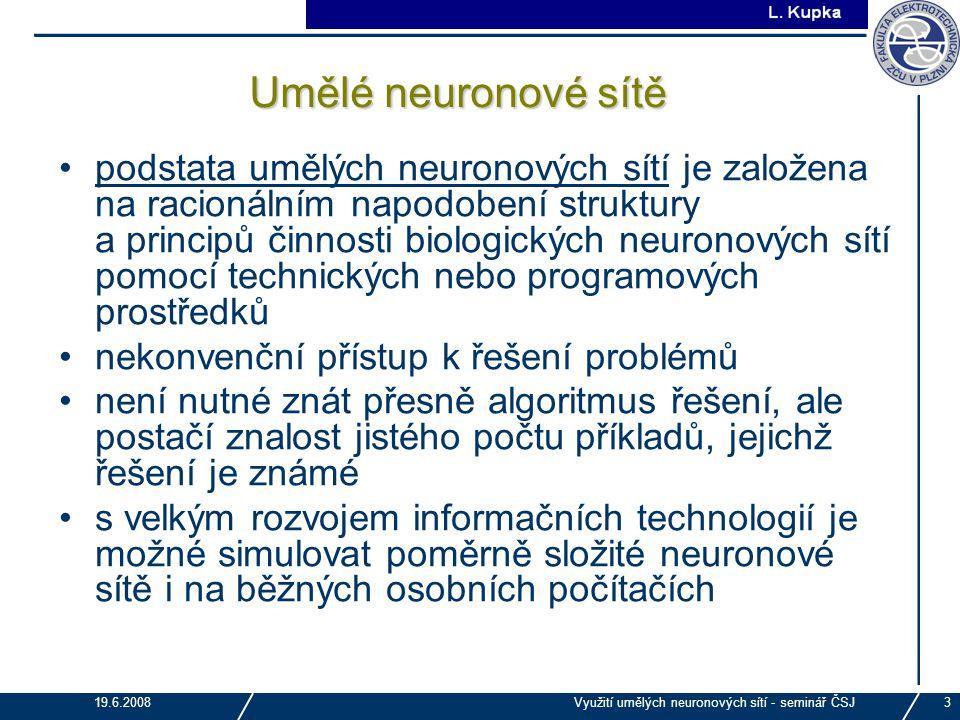Umělé neuronové sítě