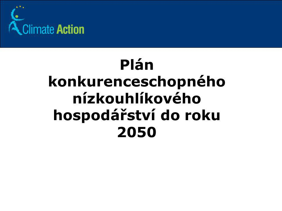 Plán konkurenceschopného nízkouhlíkového hospodářství do roku 2050