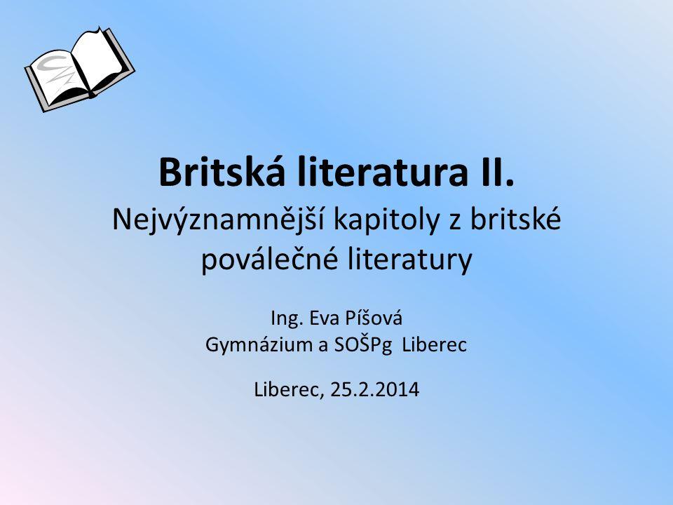 Ing. Eva Píšová Gymnázium a SOŠPg Liberec Liberec, 25.2.2014