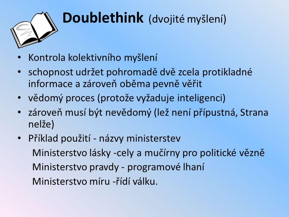 Doublethink (dvojité myšlení)