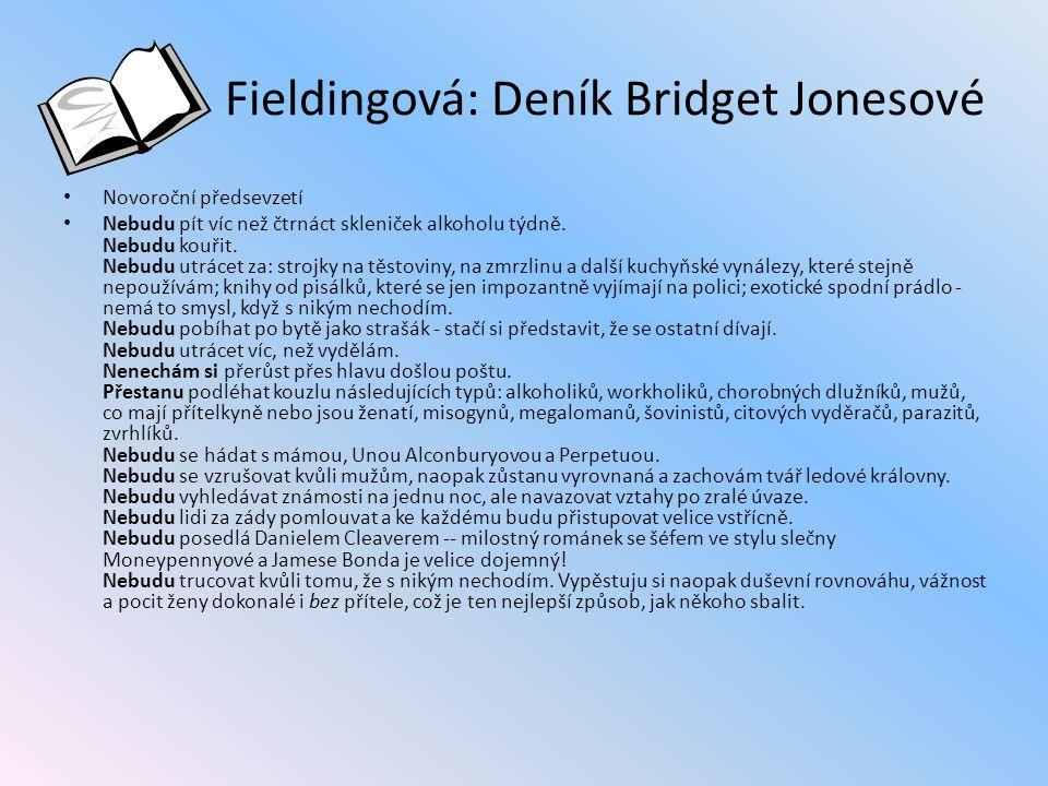 Fieldingová: Deník Bridget Jonesové