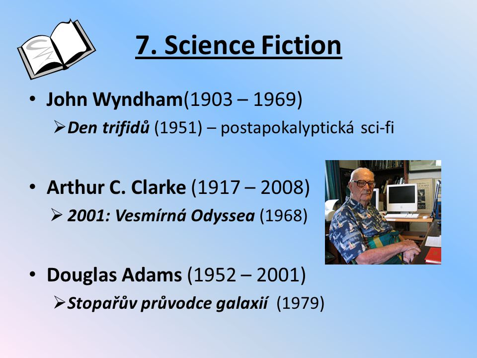 7. Science Fiction John Wyndham(1903 – 1969)