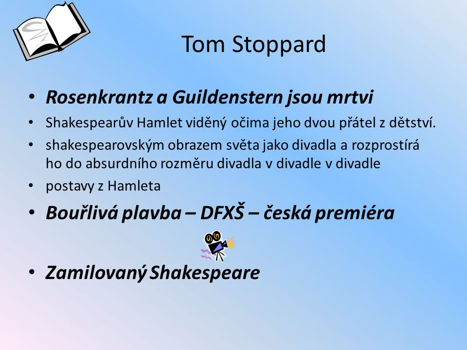 Tom Stoppard Rosenkrantz a Guildenstern jsou mrtvi