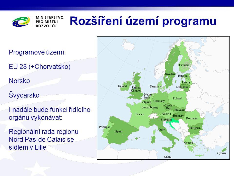 Rozšíření území programu