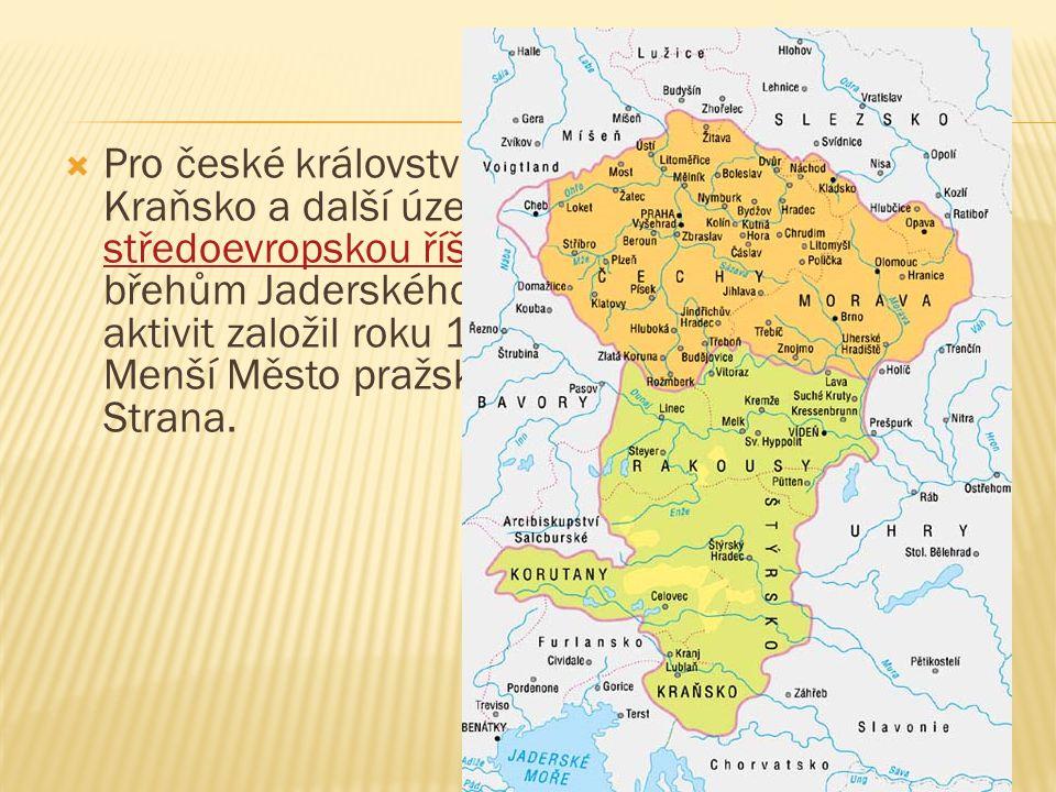 Pro české království získal Chebsko, Korutany, Kraňsko a další území a vybudoval mohutnou středoevropskou říši táhnoucí se téměř až ke břehům Jaderského moře.