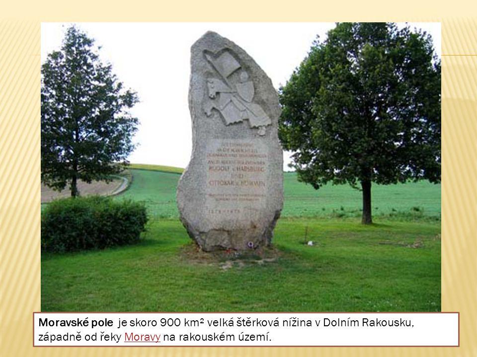 Moravské pole je skoro 900 km² velká štěrková nížina v Dolním Rakousku, západně od řeky Moravy na rakouském území.