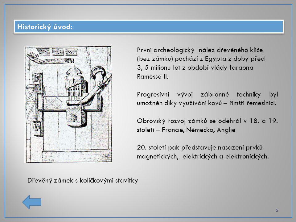První archeologický nález dřevěného klíče