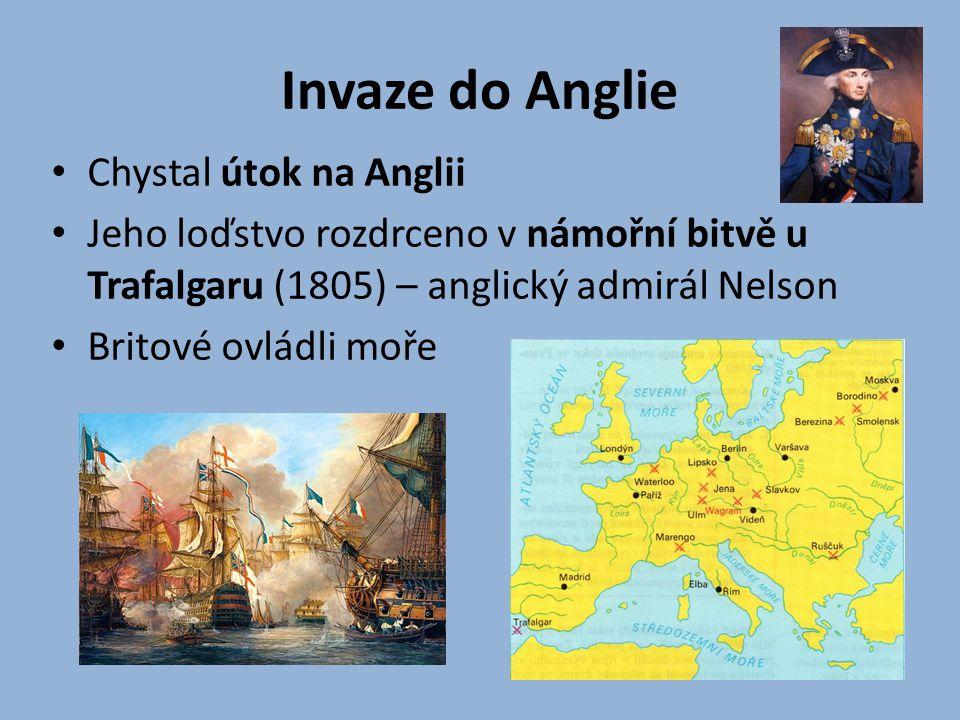 Invaze do Anglie Chystal útok na Anglii