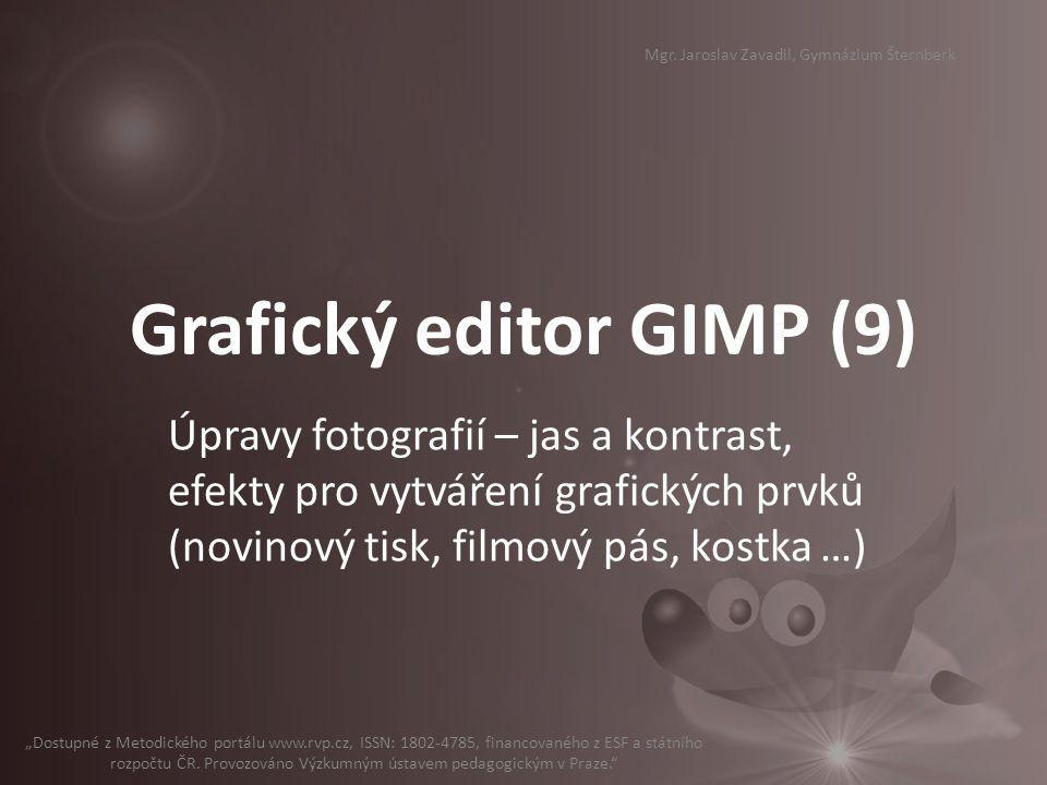 Grafický editor GIMP (9)