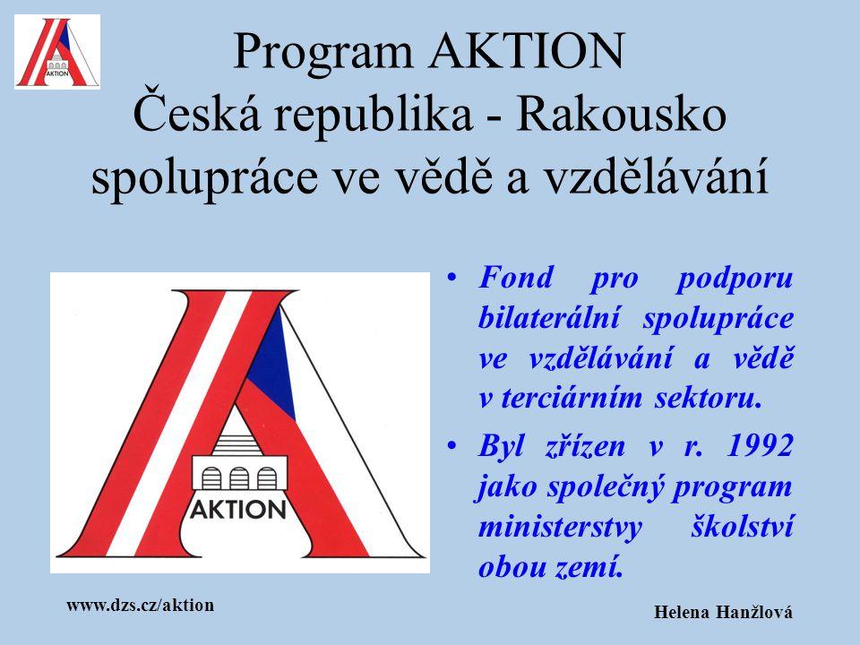 Program AKTION Česká republika - Rakousko spolupráce ve vědě a vzdělávání