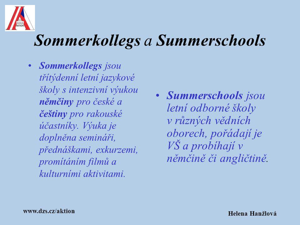 Sommerkollegs a Summerschools
