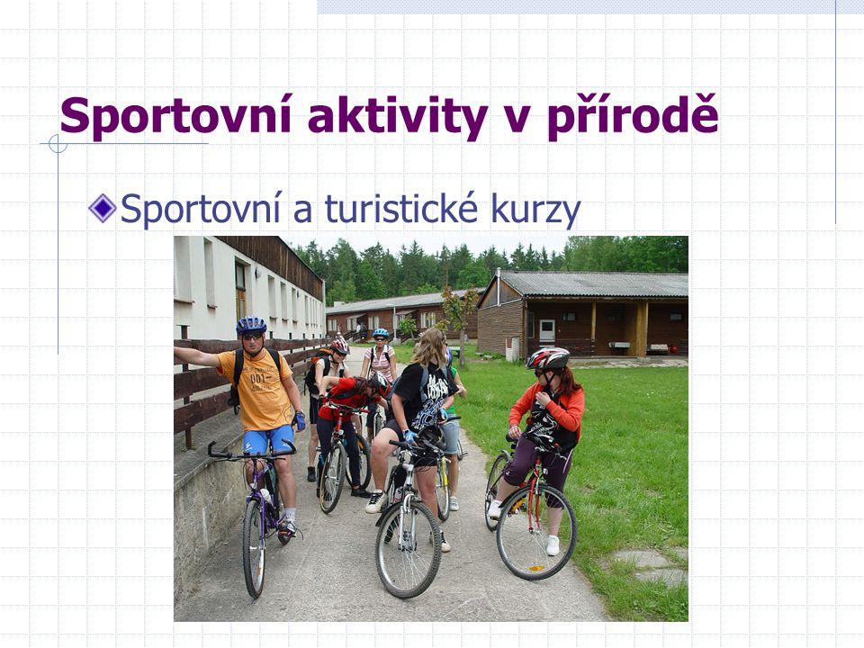 Sportovní aktivity v přírodě