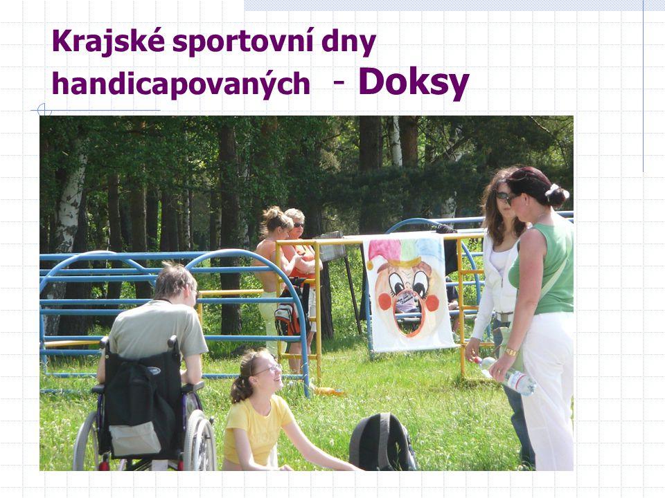 Krajské sportovní dny handicapovaných - Doksy