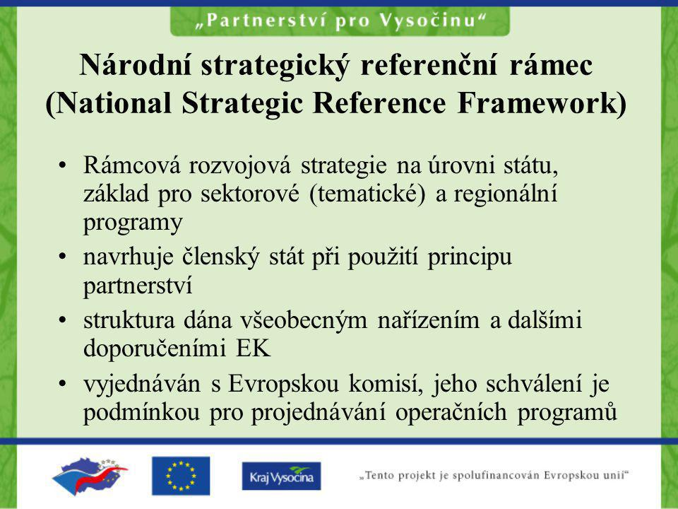 Národní strategický referenční rámec (National Strategic Reference Framework)