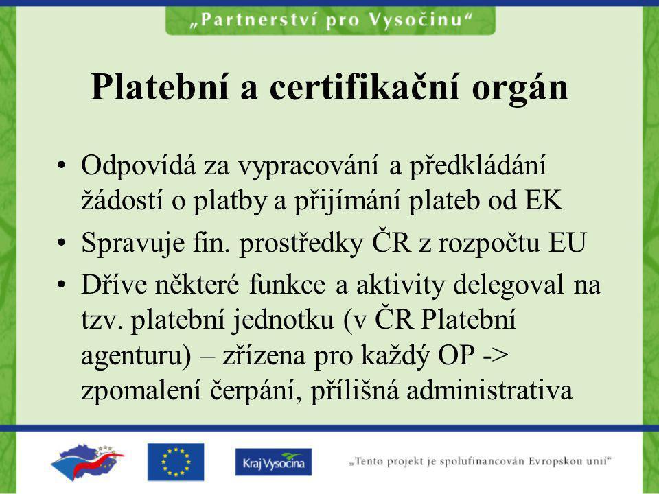 Platební a certifikační orgán