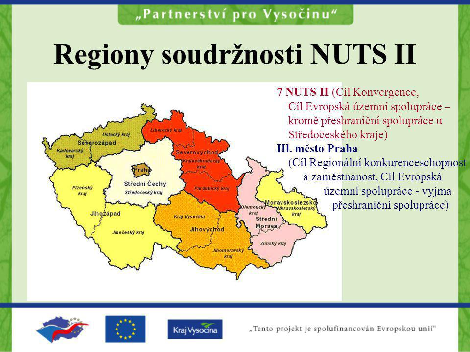 Regiony soudržnosti NUTS II