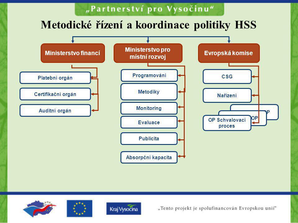 Metodické řízení a koordinace politiky HSS