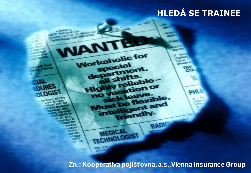 Zn.: Kooperativa pojišťovna, a.s.,Vienna Insurance Group