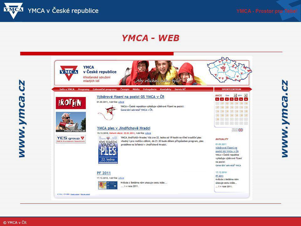 www.ymca.cz www.ymca.cz YMCA - WEB YMCA v České republice