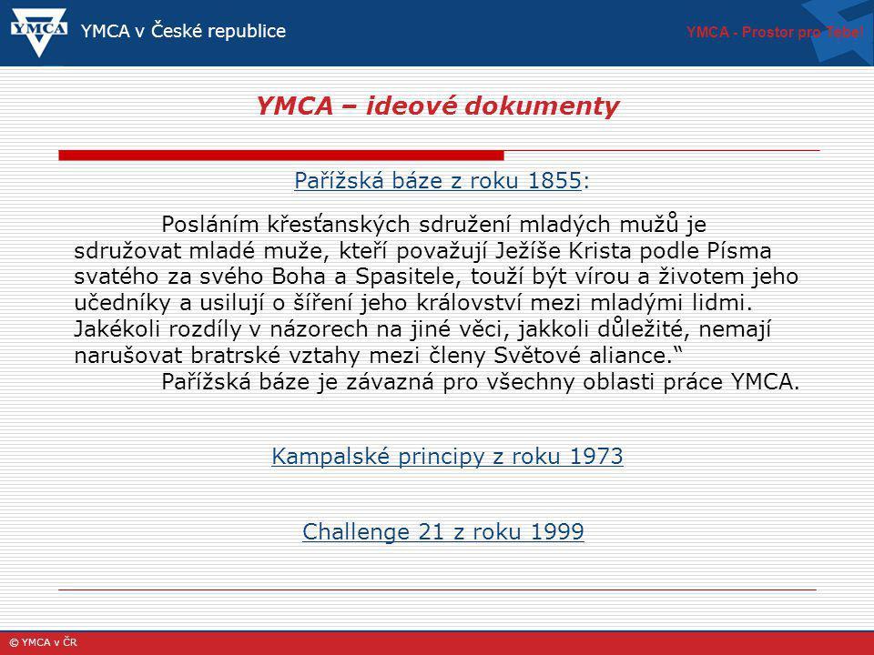 YMCA – ideové dokumenty