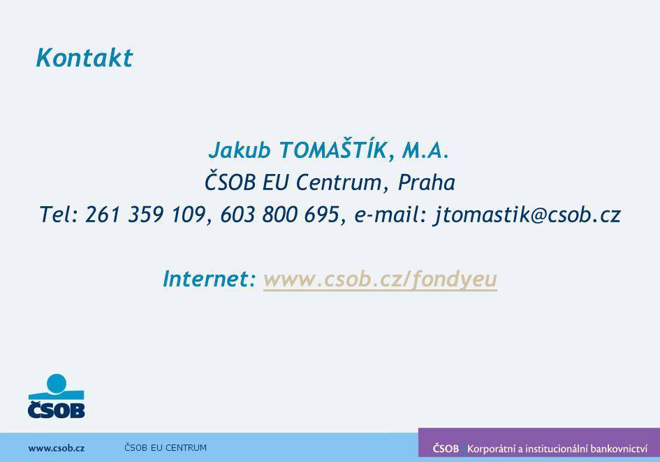 Internet: www.csob.cz/fondyeu
