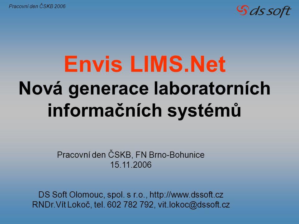 Nová generace laboratorních informačních systémů