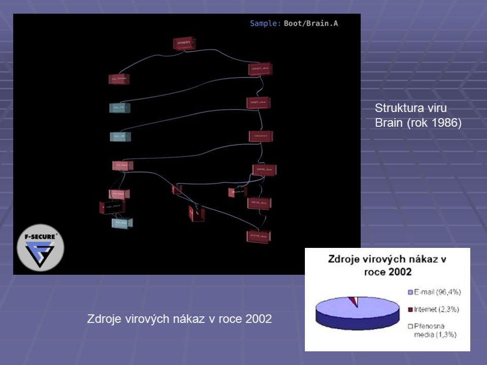 Struktura viru Brain (rok 1986)