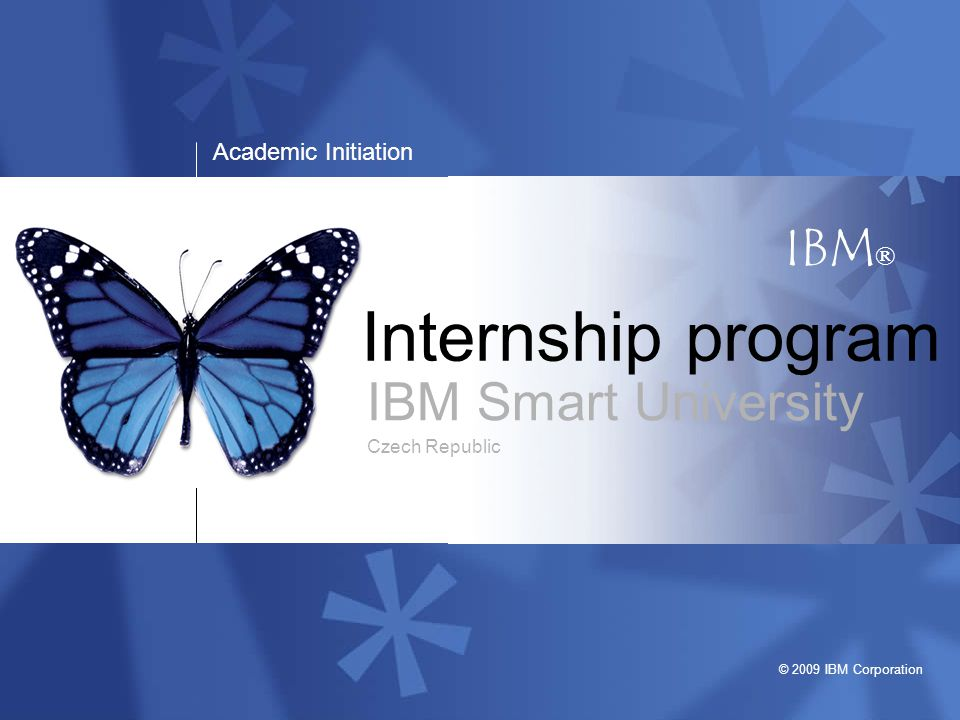 IBM Smart University Czech Republic