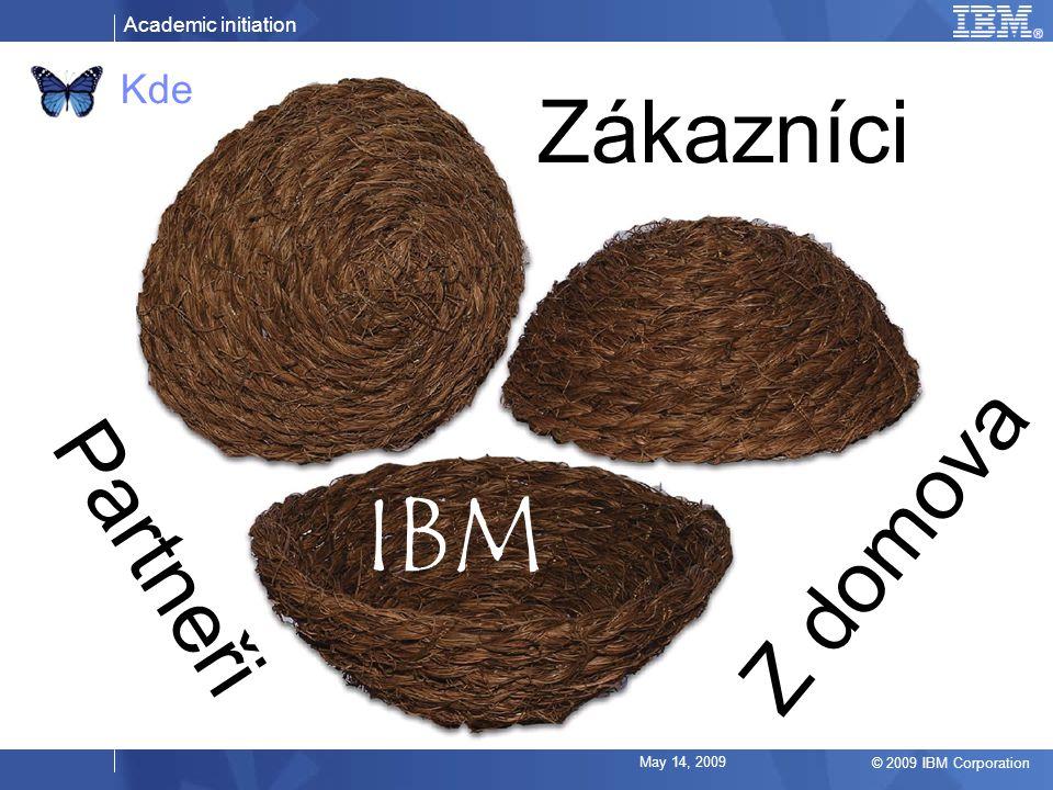 Kde Zákazníci IBM Z domova Partneři May 14, 2009